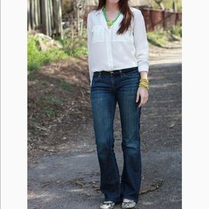 Citizens of Humanity Dita Petite Bootcut • sz 25